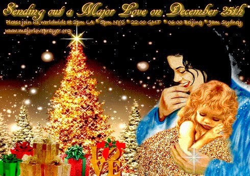 Michael Jackson Christmas (MJ by artist unknown)