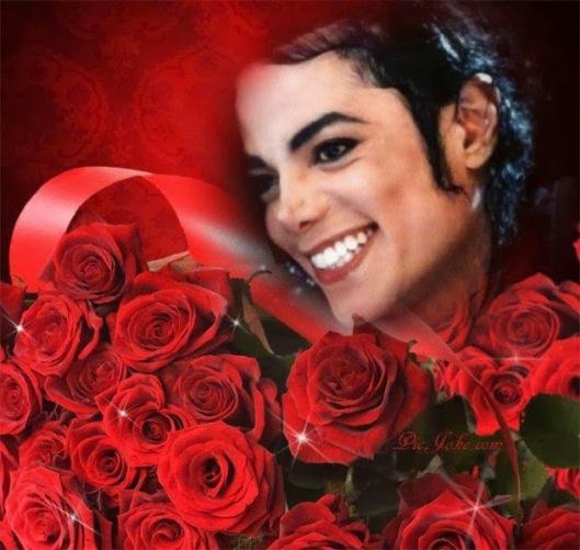 roses mj smile