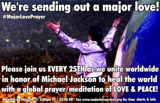 Major Love Prayer Michael Jackson 25th