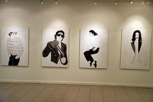 Argentina. A gallery exhibition in Buenos Aires