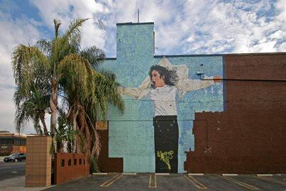 This mural can be found on Cahuenga Blvd in Los Angeles