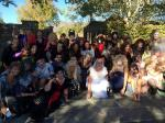 more pics of the Thriller dancers at Neverland