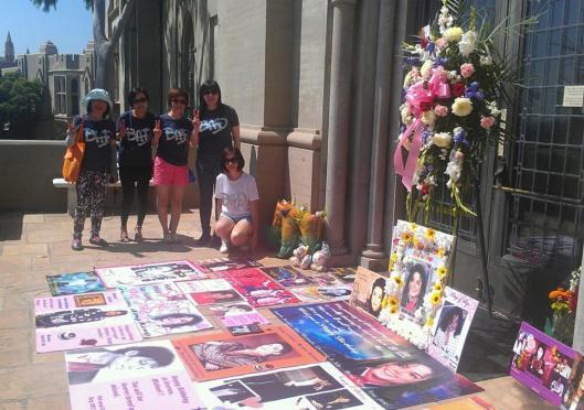 LOVE from Hong Kong MJ Bcelebration 2015
