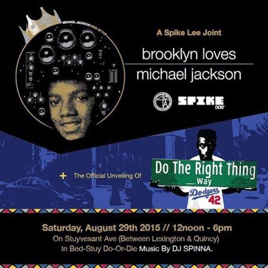 Spike Lee- Brooklyn Loves Michael 2015 -2