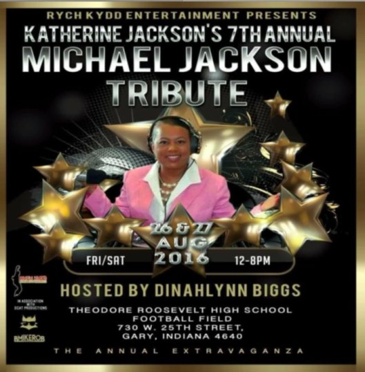Kathrine Jackson 7th-annual michaeljackson tribute in gary in August 26-27-12-8pm